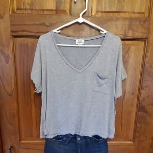 Slouchy Crop Tee by Project Social Tee Sz L